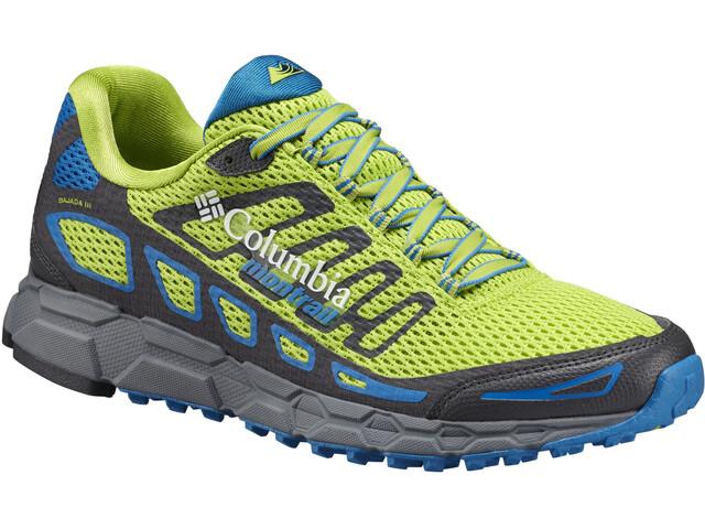 Columbia Bajada III Shoes Men Bright Green/Blue Magic